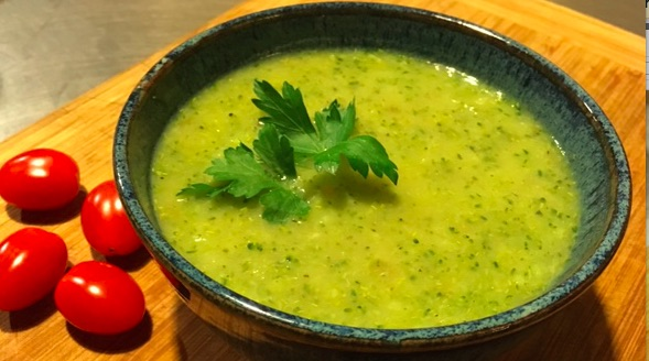 Simple Cream of Broccoli Soup