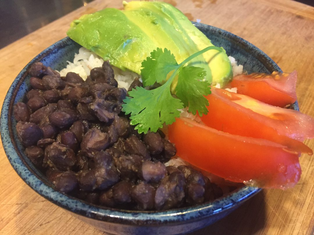 Easiest climate-friendly comfort food: Black Beans and Rice