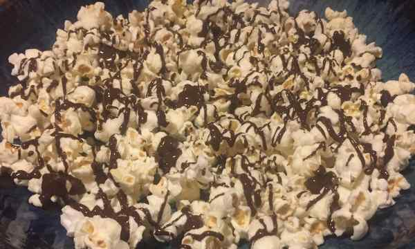 Make the Earth your Valentine–Fair Trade Chocolate Peanut Butter Popcorn