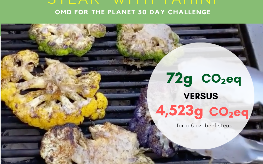 Day 5 of Oprah's 30 day OMD for the planet